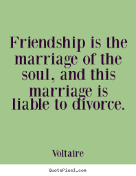 Divorce and friendship